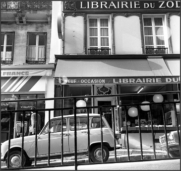 on the Left BanK During 1978, Off The Boulevard St Michel In PARIS, FRANCE