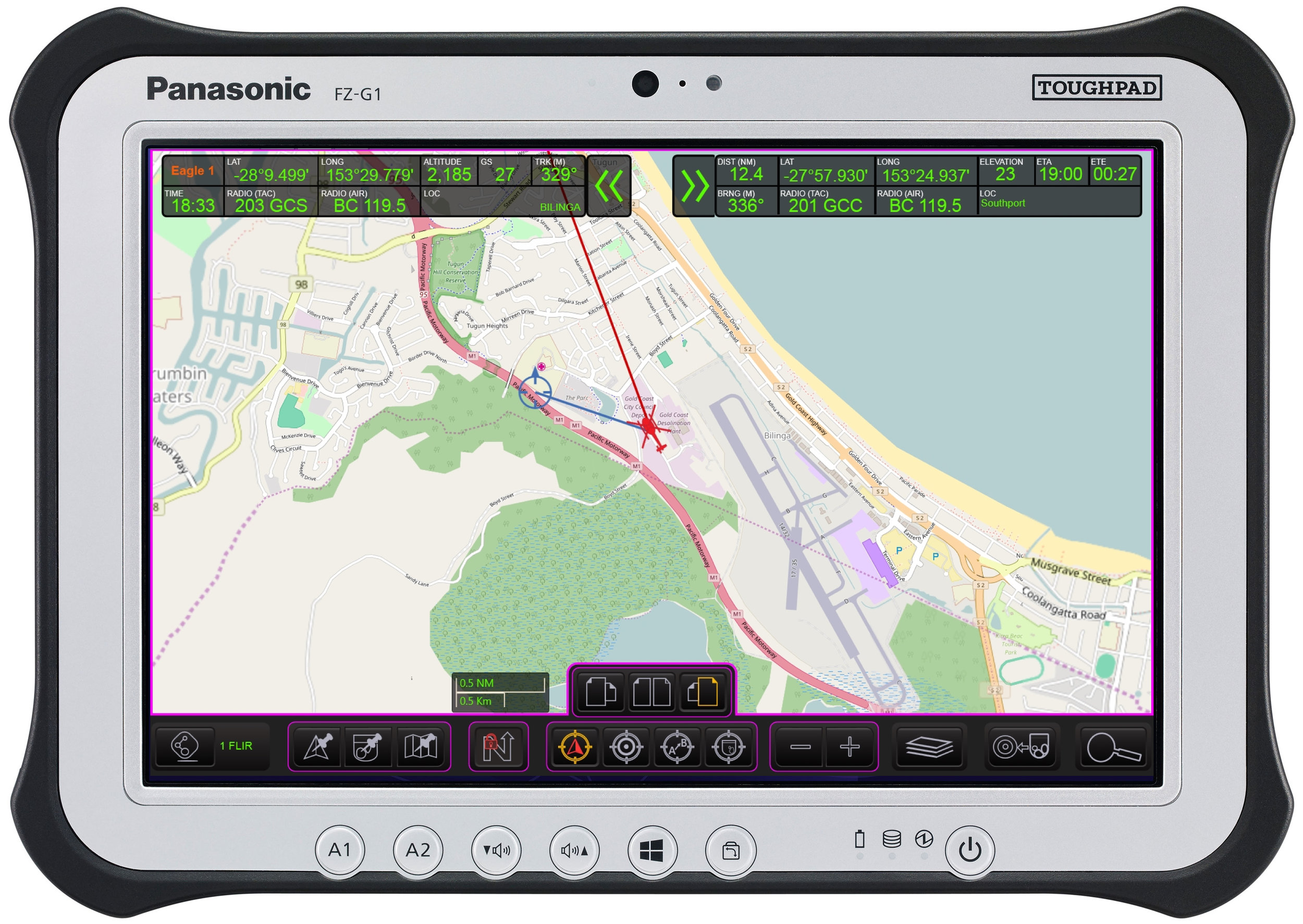 MISSIONMAP Tablet Edition on Panasonic FZ-G1 Tablet PC 6.jpg