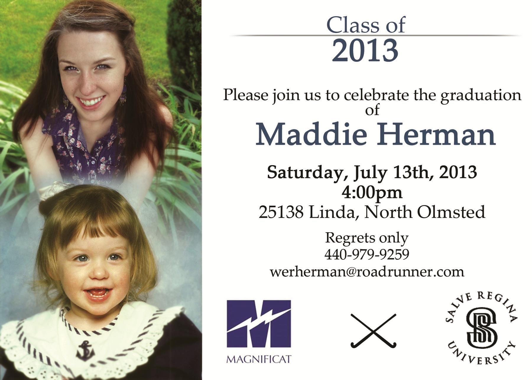Maddie's Graduation