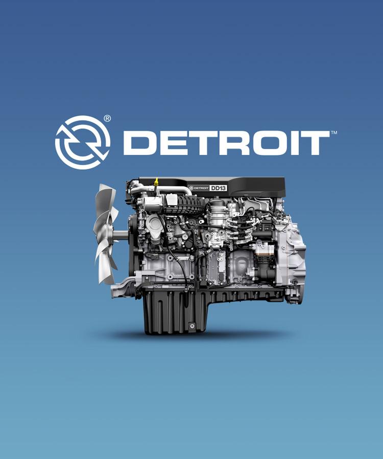 Detroit Engines: Site design
