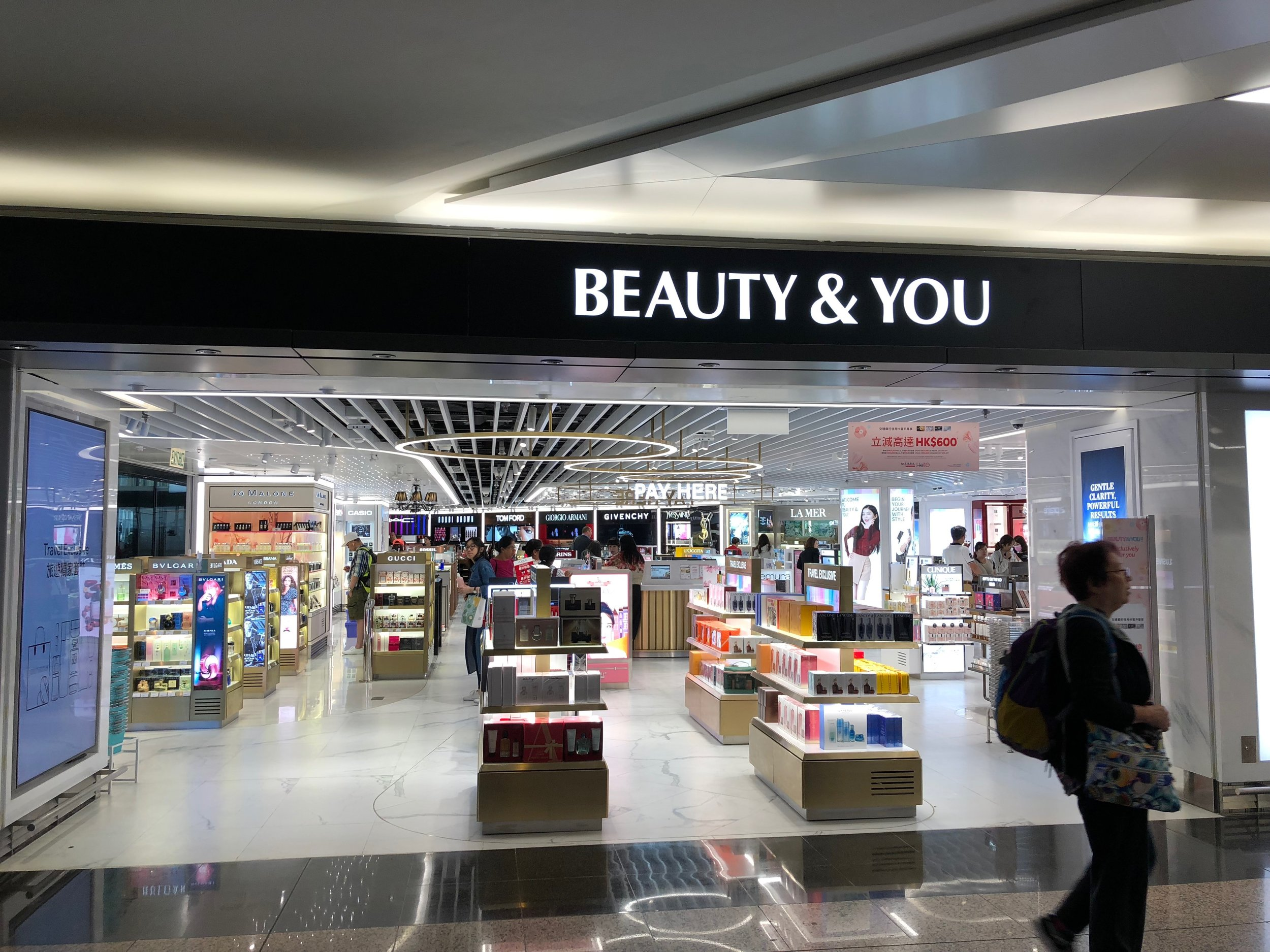SHILLA DUTY FREE SHOPS, HONG KONG AIRPORT
