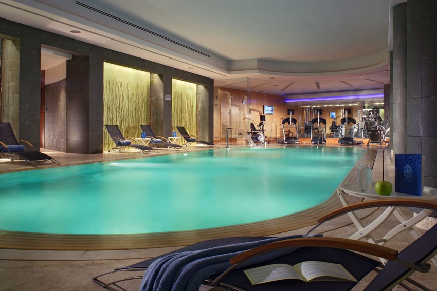 POOL @ SWISS HOTEL, MOSCOW