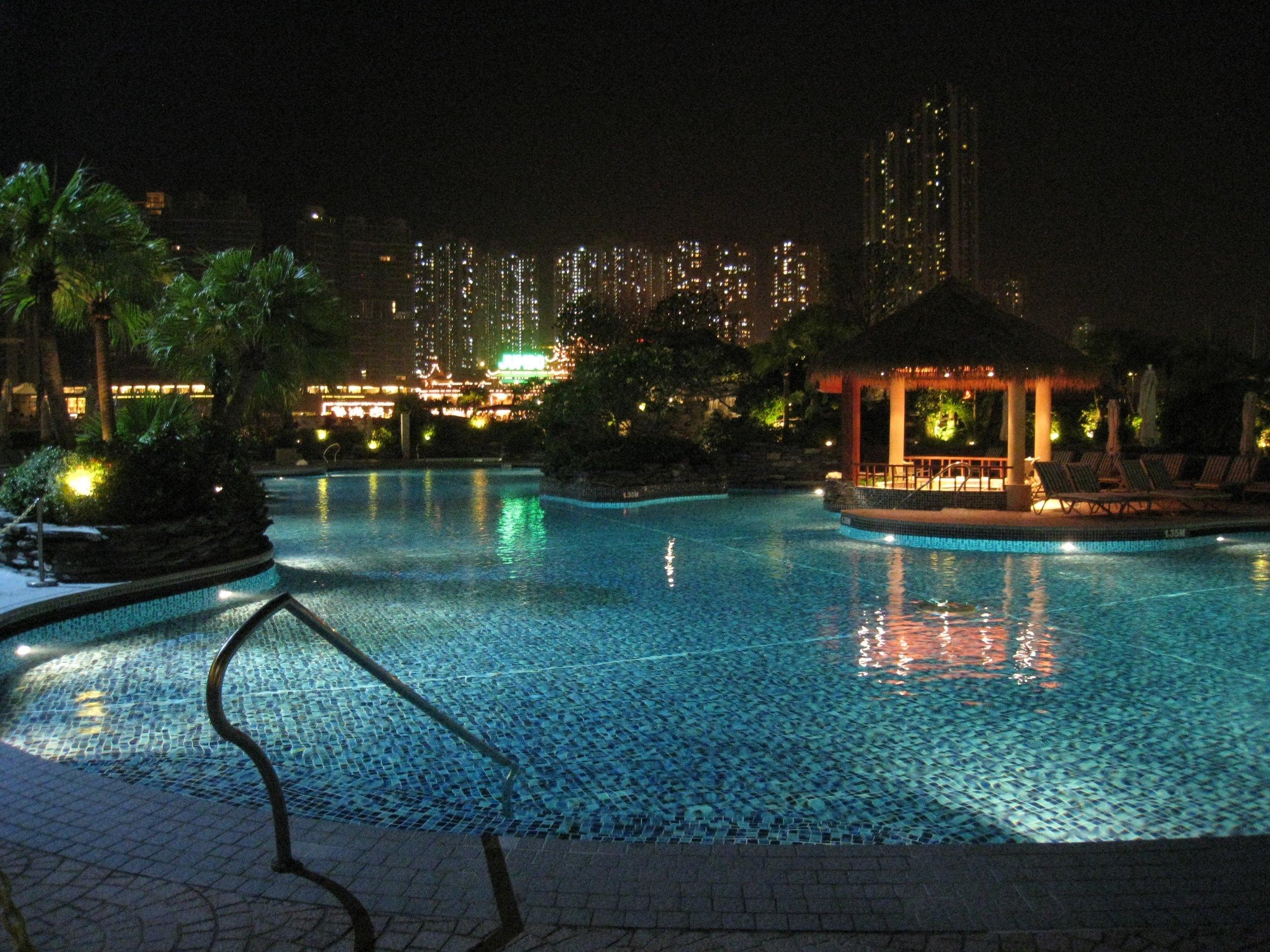 POOL @ HONG KONG JOCKEY CLUB CLUB HOUSE