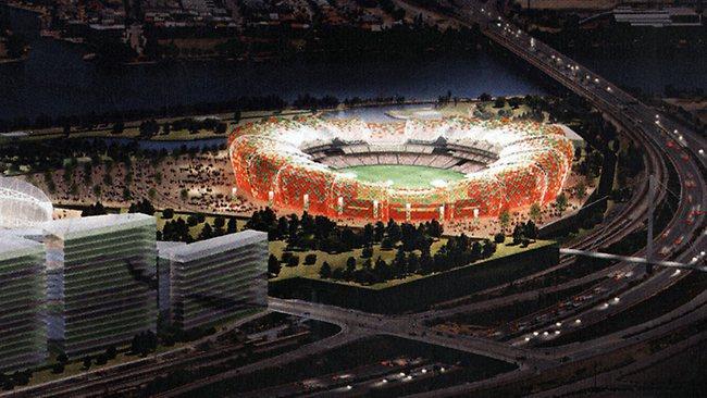 Liberal-proposed Burswood Stadium
