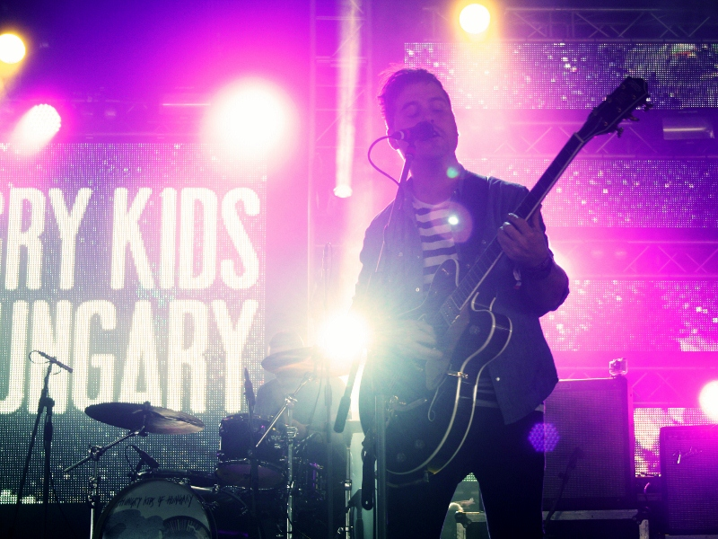 Hungry Kids Of Hungary demonstrated why they are an Australian indie-rock favourite