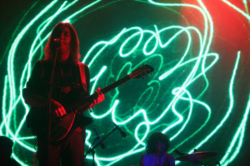Tame Impala impressed, with some stunning visuals. Oh and they sounded great