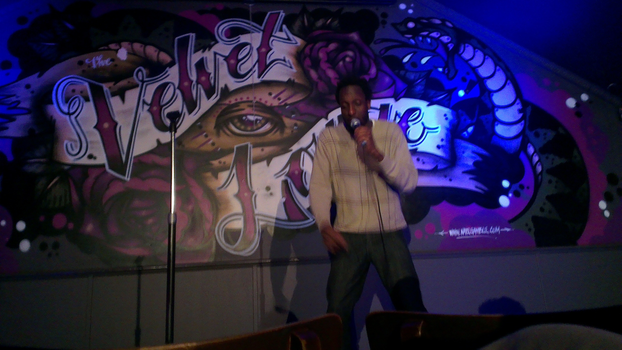 His on-stage presence is fantastic for such a young comedian!