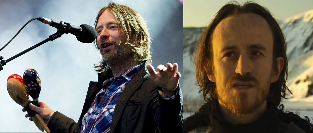 I've never seen Thom Yorke or Edd in the same room - and they both seem very concerned about global climate changes, just sayin'