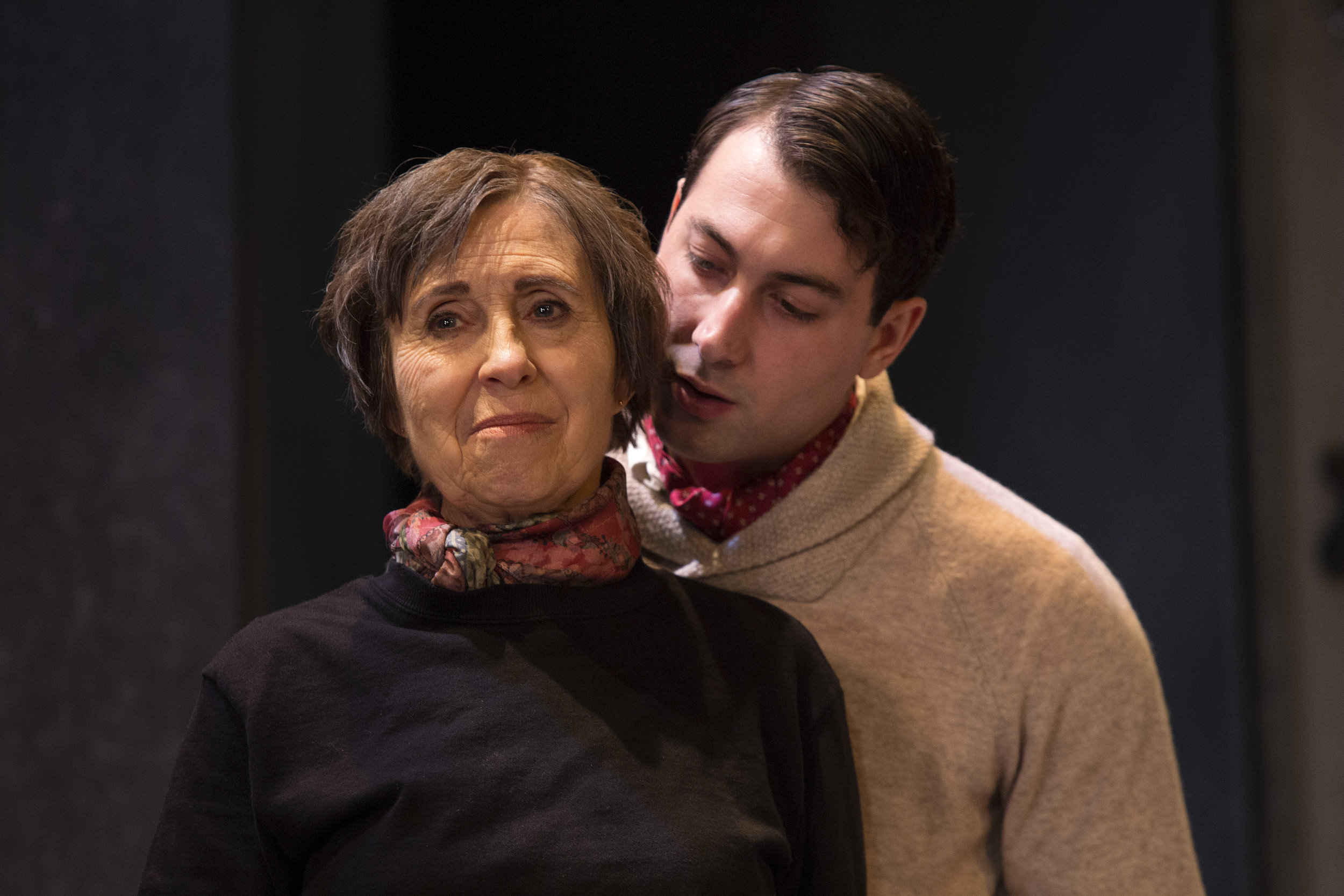 Switzerland03 Actors Jenny Davis and Giuseppe Rotondella. Photo credit Philip Gostelow.jpg