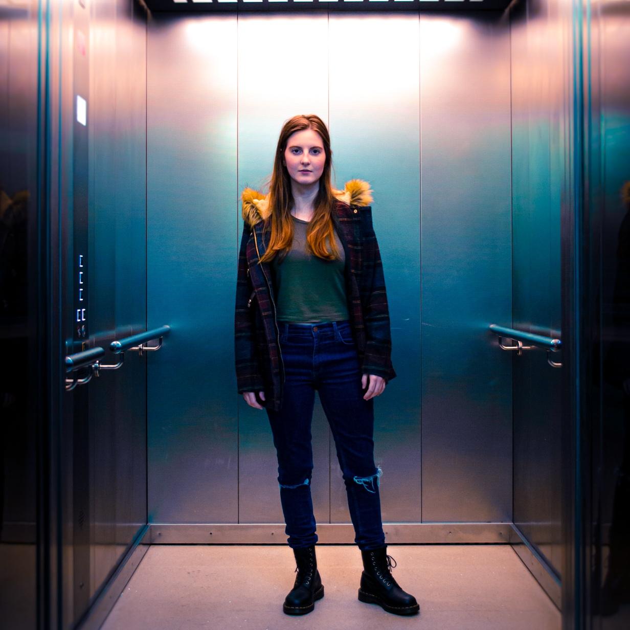 Elise Wilson  wrote the script for  Floor Thirteen
