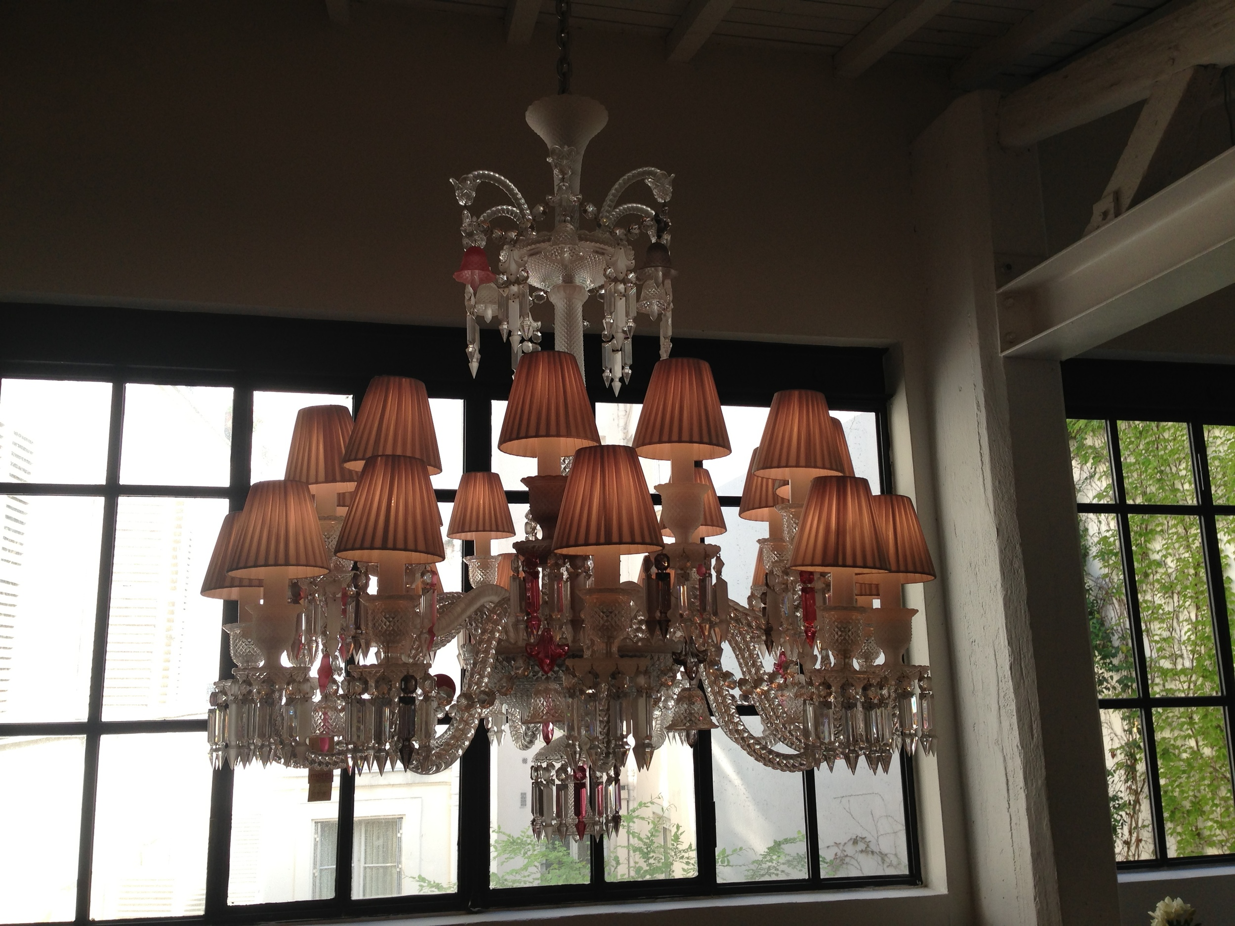 Another beautiful chandelier!