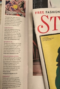 Recommended in Stylist magazine December 2016