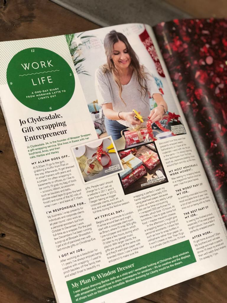 Stylist's Christmas Edition in 'Work Life' December 2017