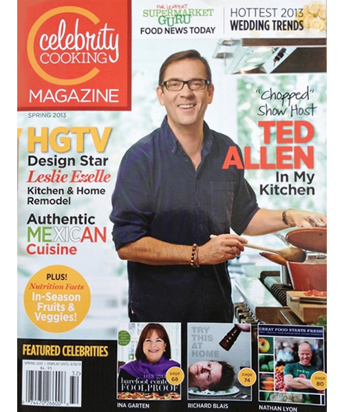 Celebrity Cooking Magazine Spring 2013
