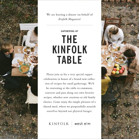 Kinfolk Table Perth