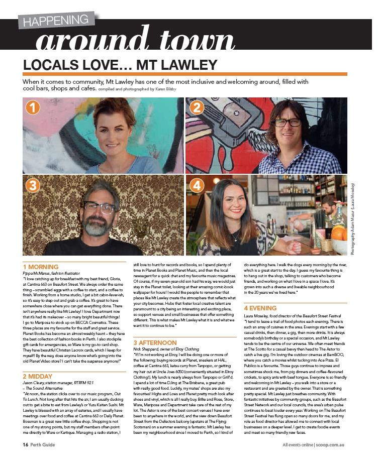 Scoop Magazine: Perth Guide April 2014
