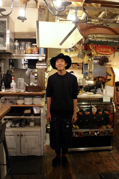 This is Taikan Nagai.  He is the curator and manager of this little abode.