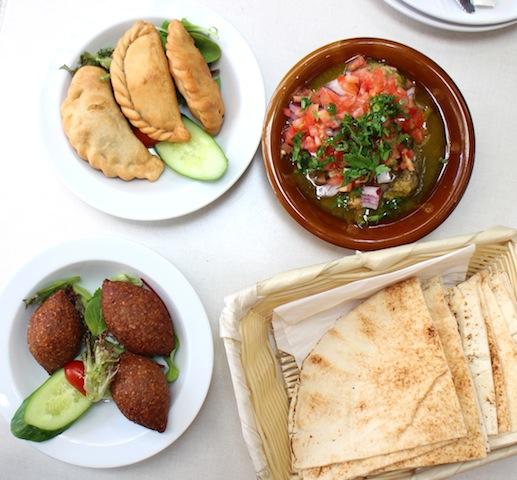Rotana lebanese lunch kebbi samobousik shanglish