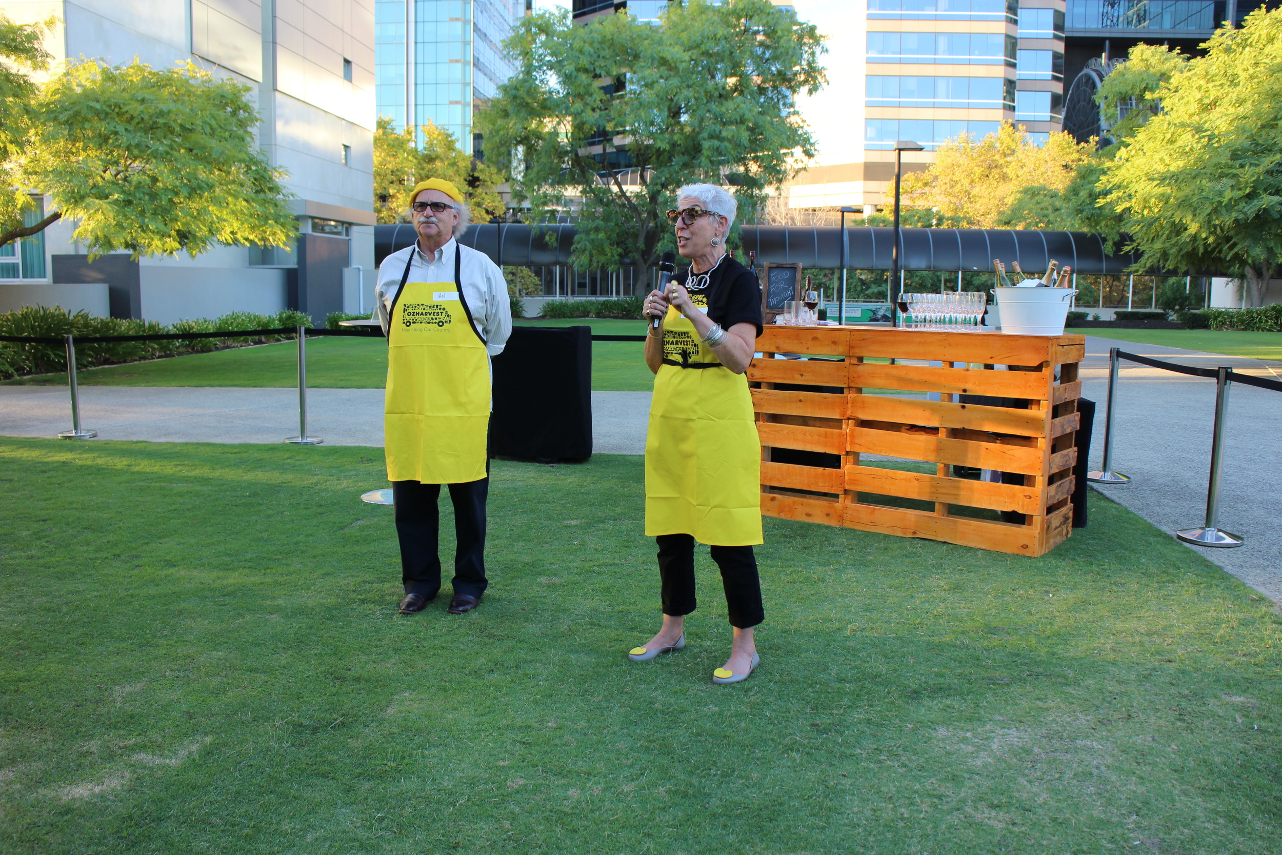 OzHarvest cooking class Eat Drink Perth