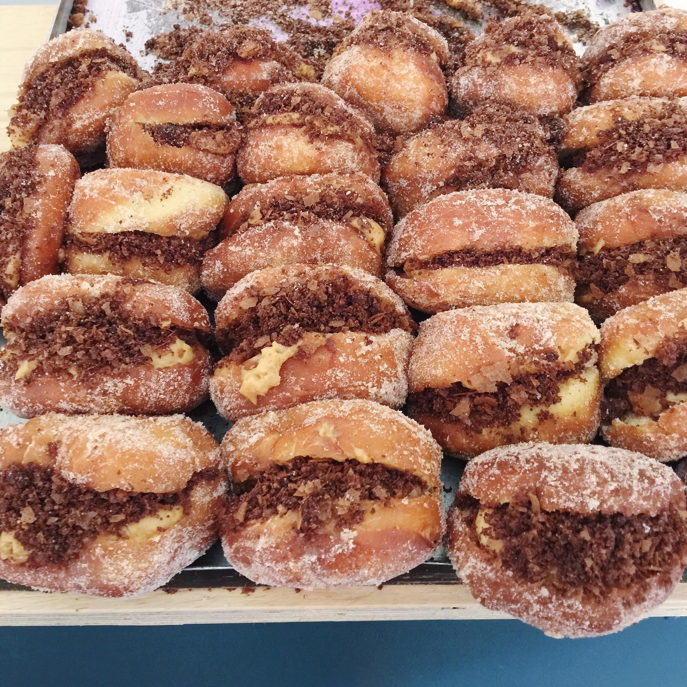 Mary Street Bakery PBJ doughnuts