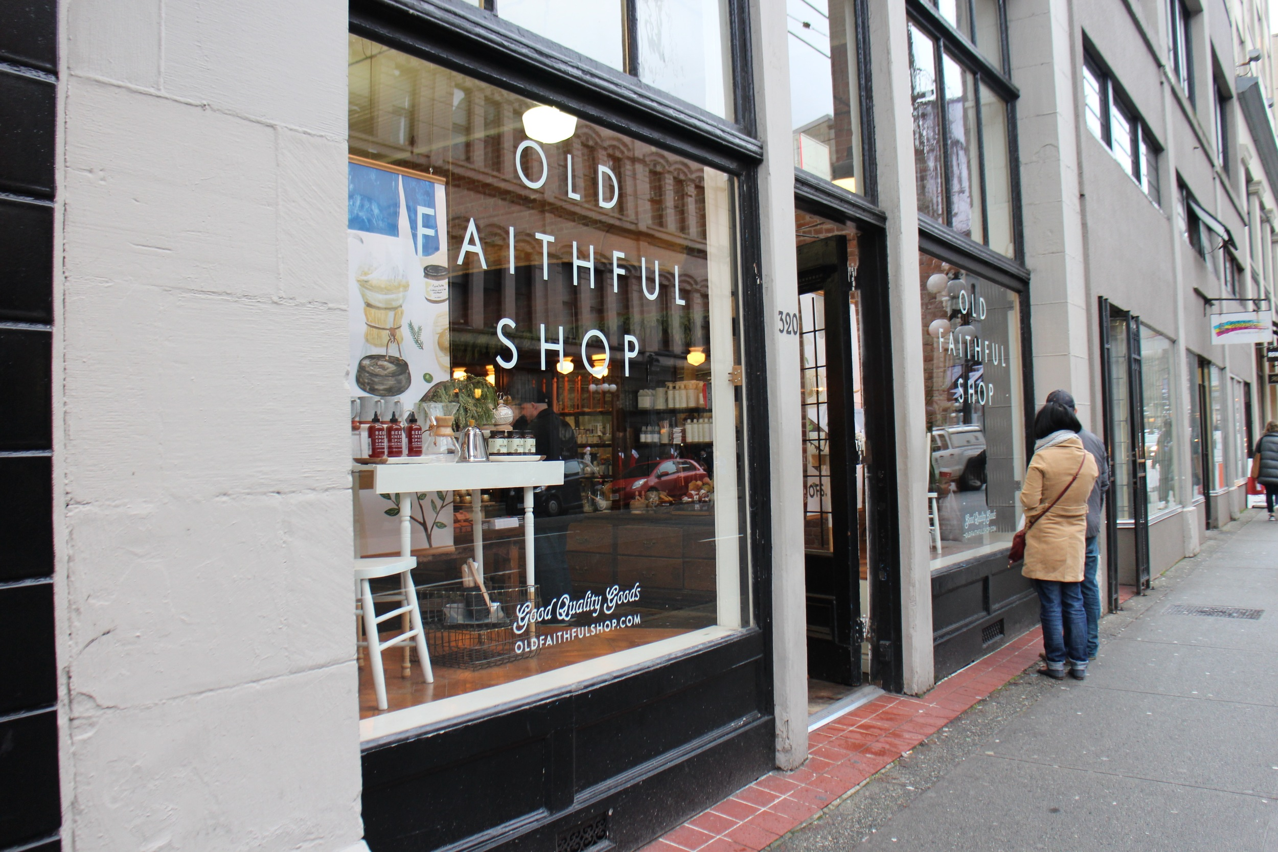 Old Faithful Shop Gastown