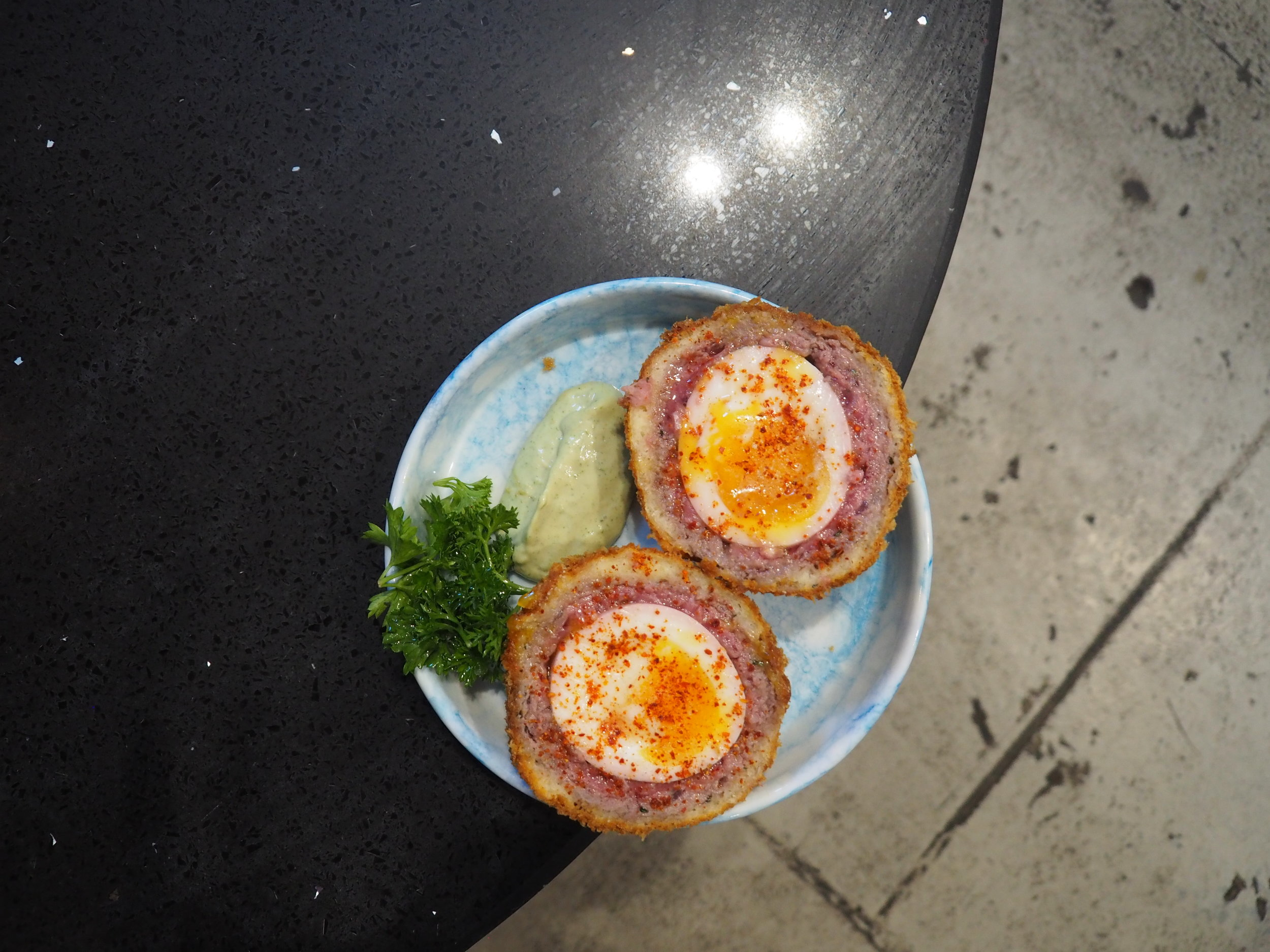 Venison Scotch Egg - inspired by Brett Graham (The Ledbury London), MasterClass 2012