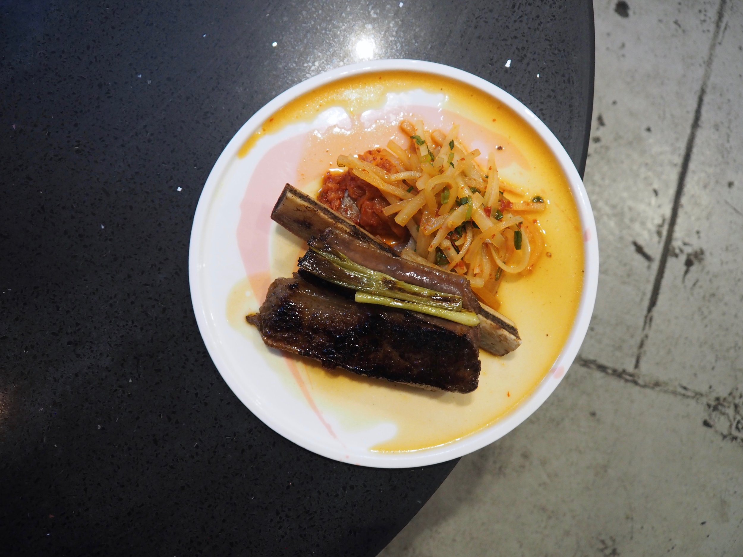Beef Short Rib - inspired by David Chang (Momofuku Ssam Bar, New York), MasterClass 2010