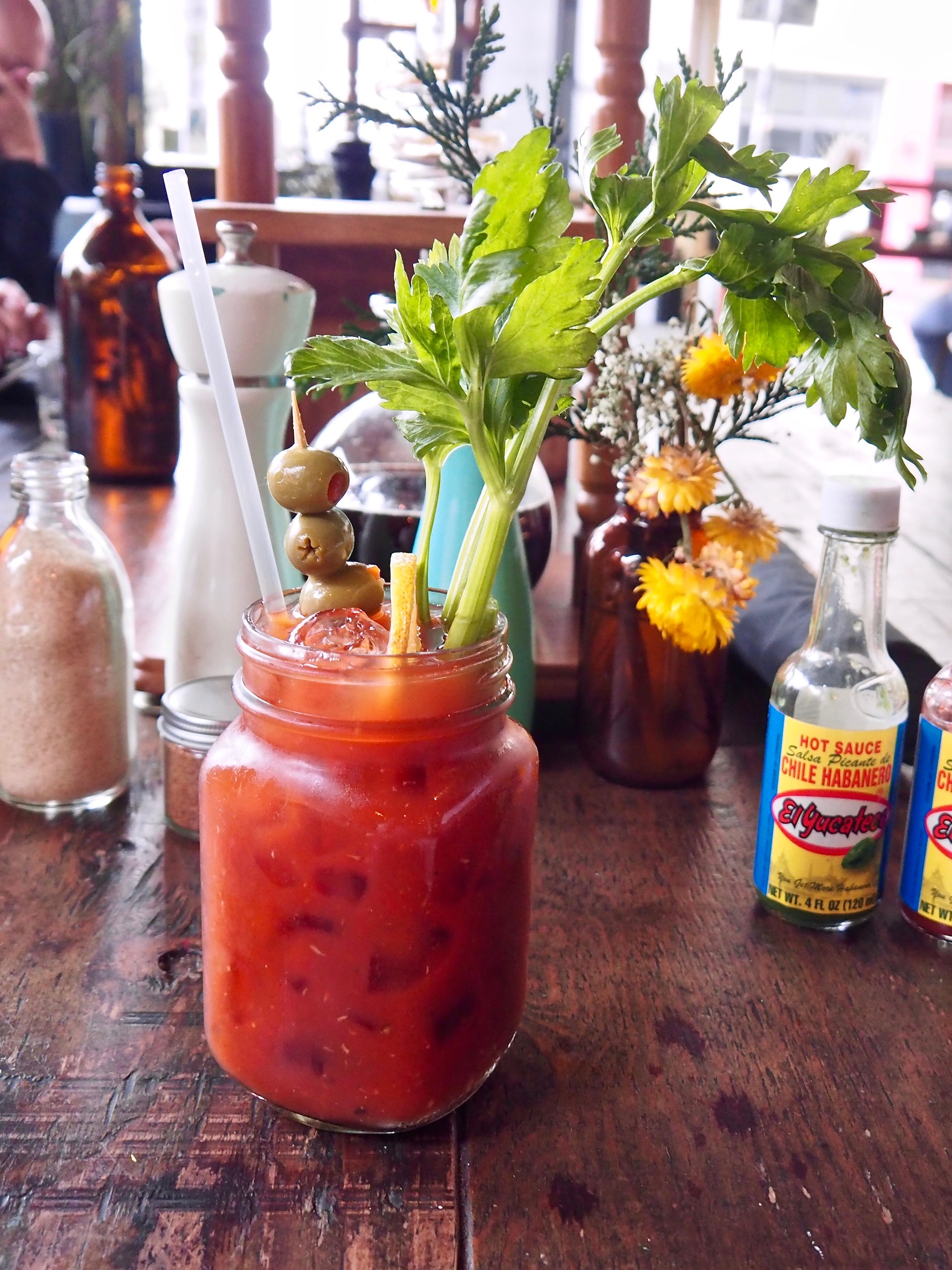 Say yes to the Bloody Mary no matter whether the hour is appropriate