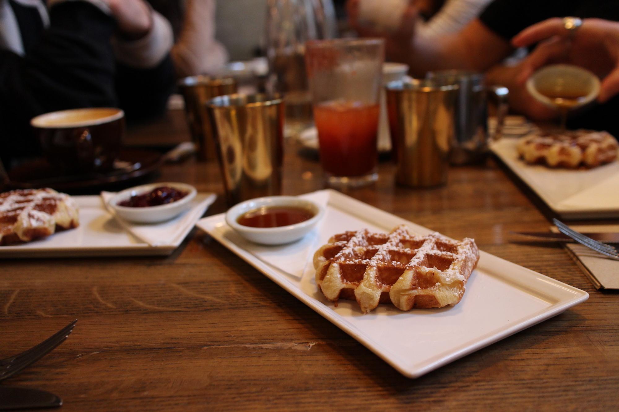 Liege Style Waffle