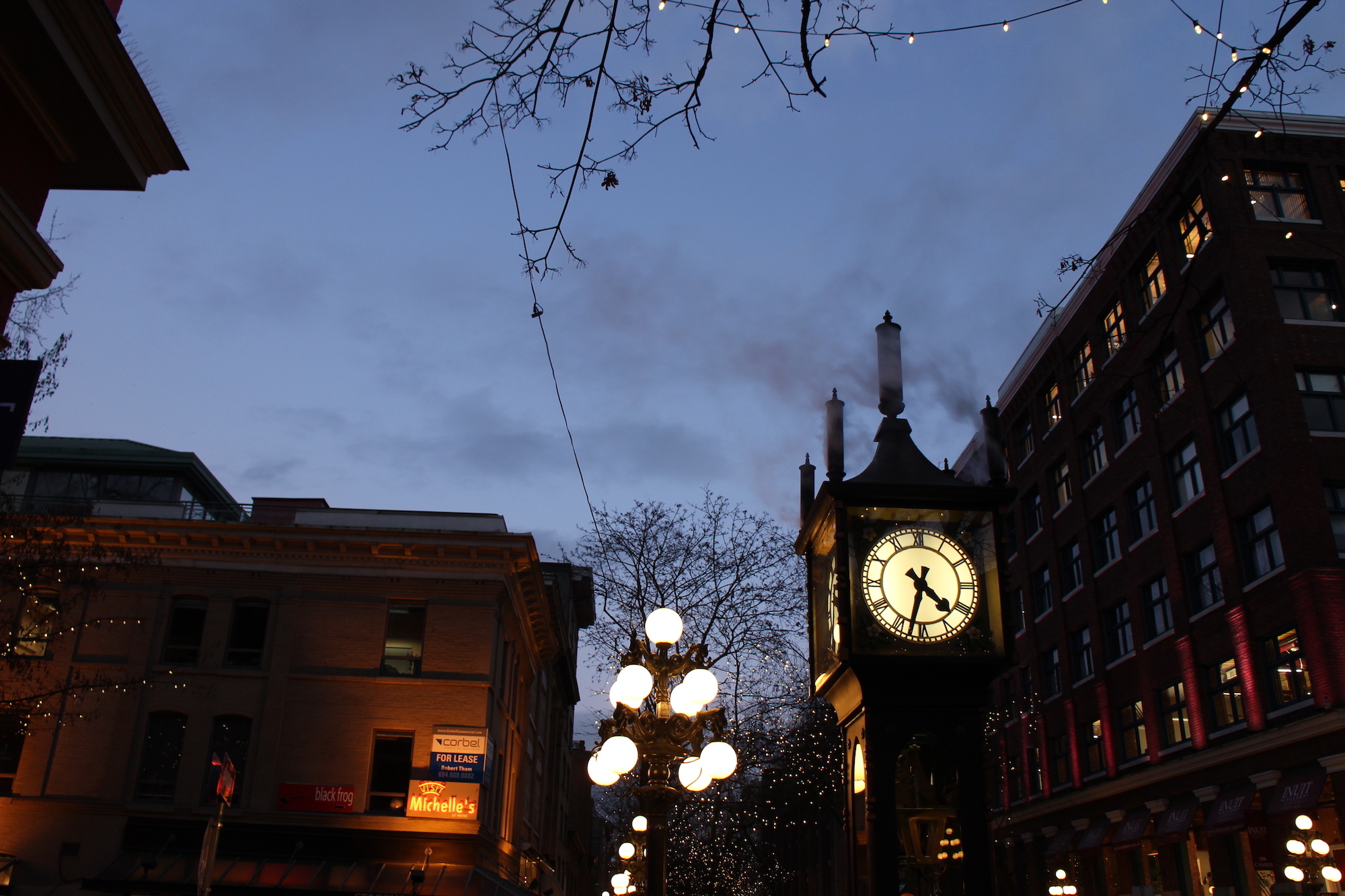 Steam Clock Vancouver