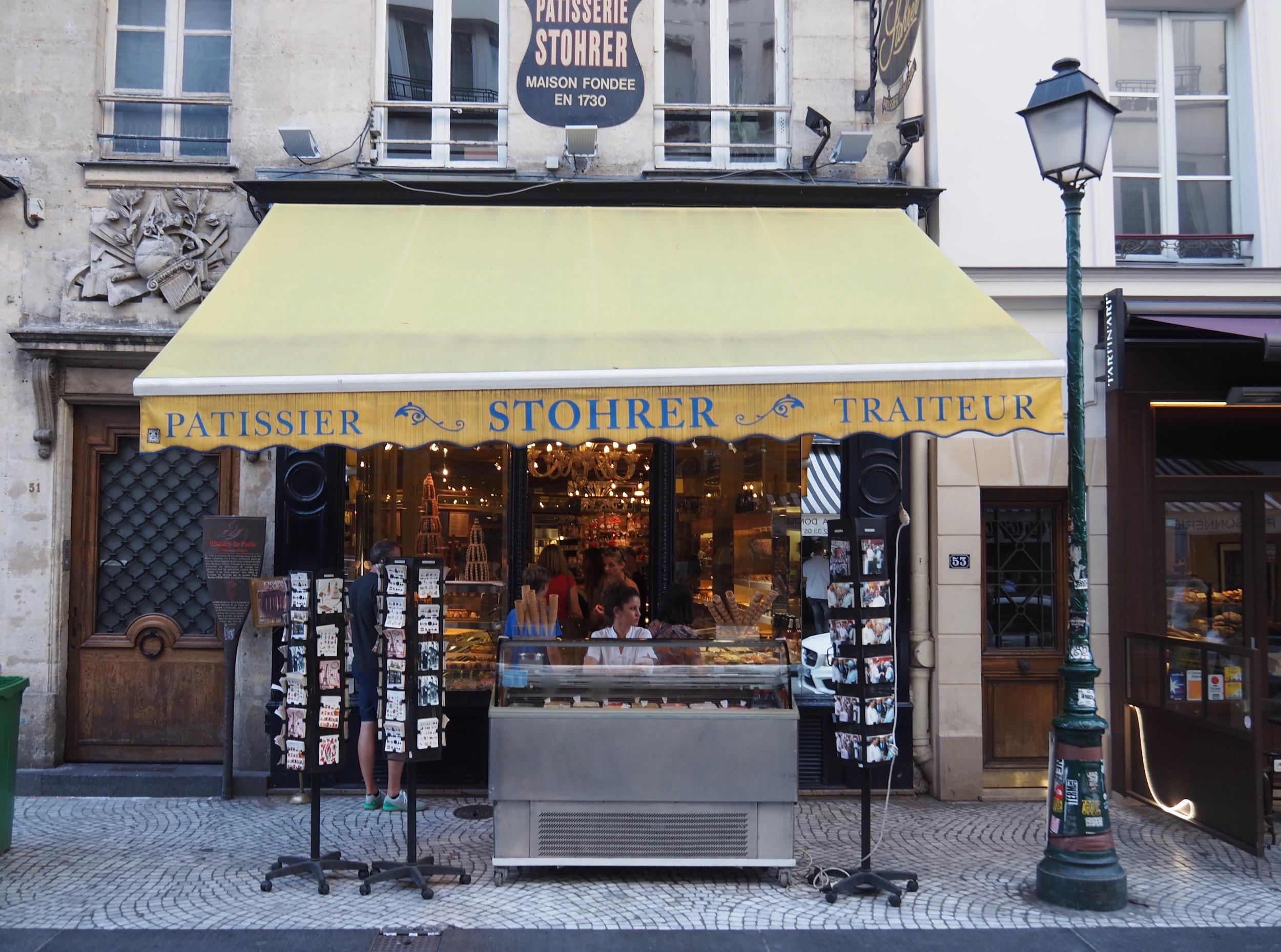Stohrer Travel Guide Paris