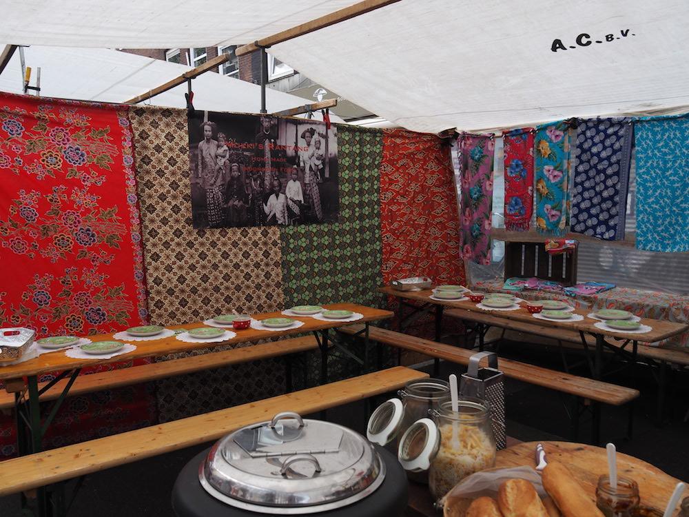 Mukki's Rantang albert cuyp market Amsterdam