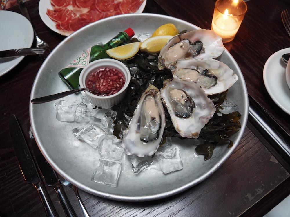 Maldon rock oysters