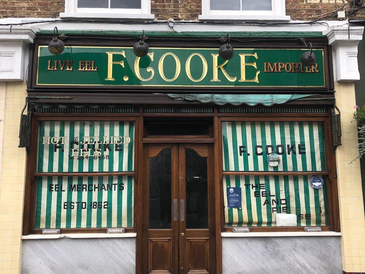F Cooke. Broadway Market