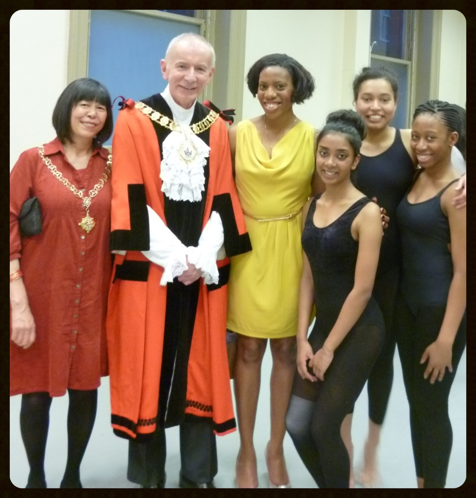 The Worship the Mayor of Islington, Councillor Barry Edwards and Madame Mayoress Jenni Chan