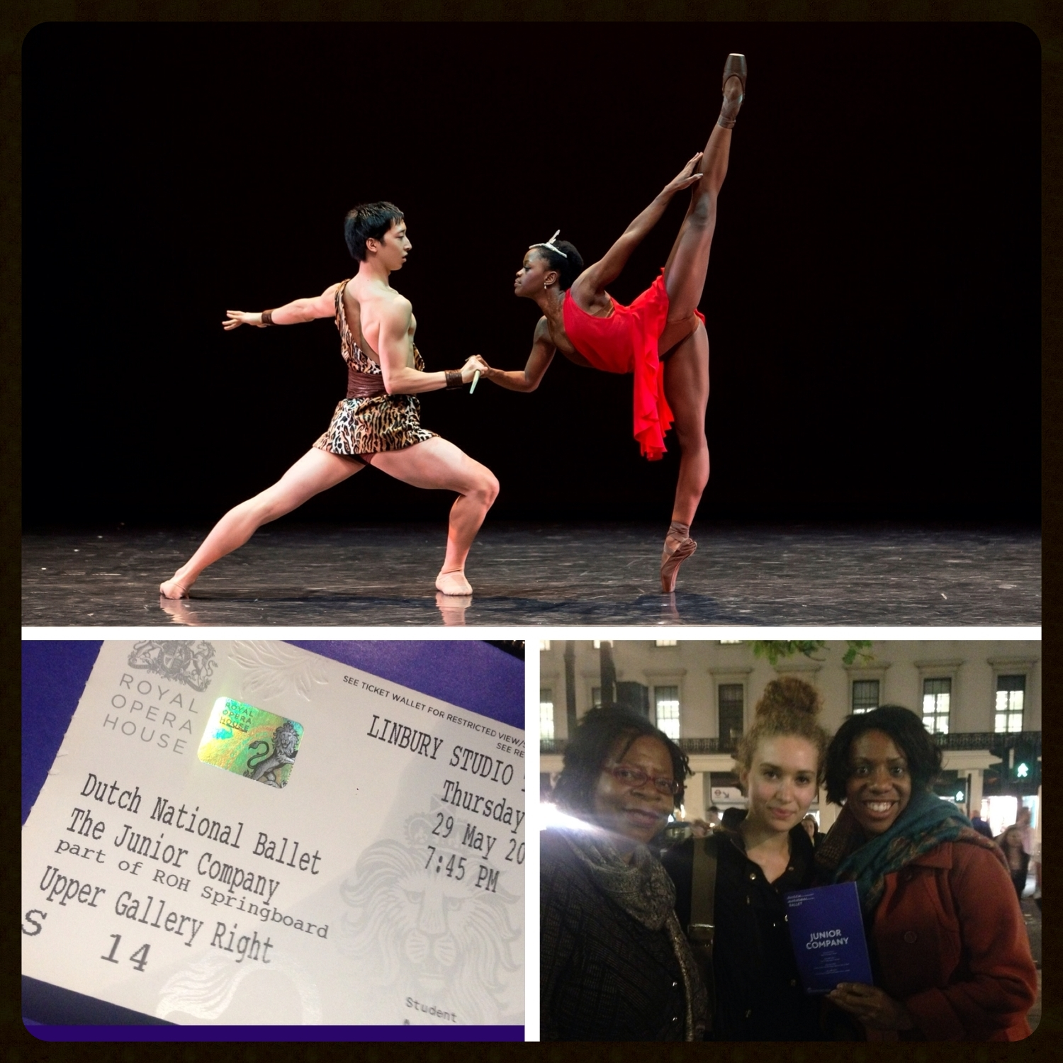 Dutch National Ballet Junior Company at the Royal Opera House, Covent Garden