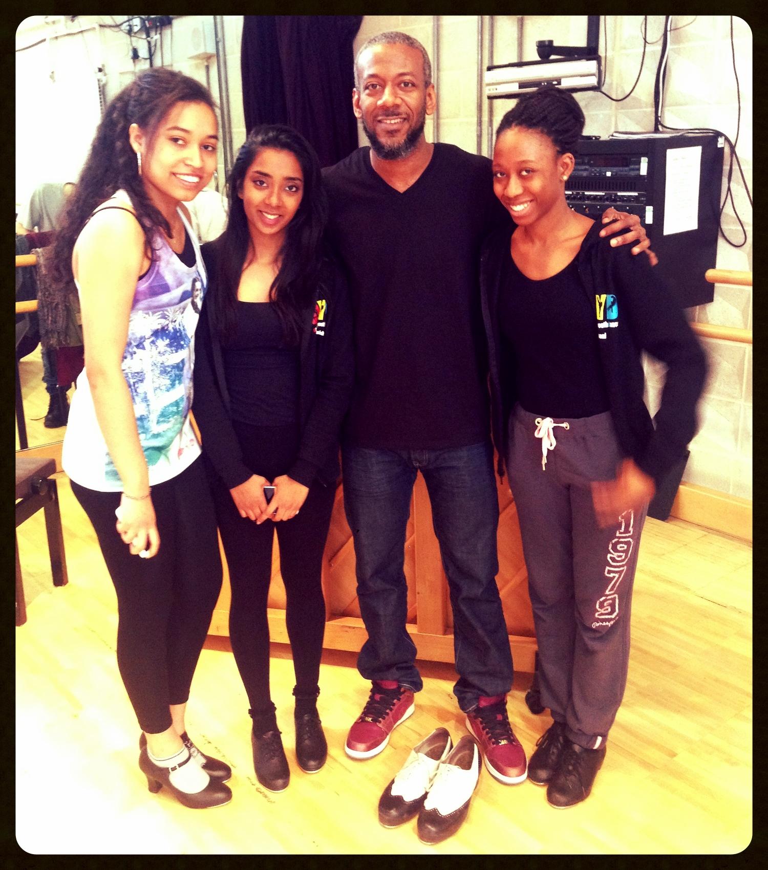 Tea dancers with Marshall Davis Jr.