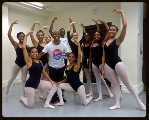With talented teacher/choreographer Denzil Bailey