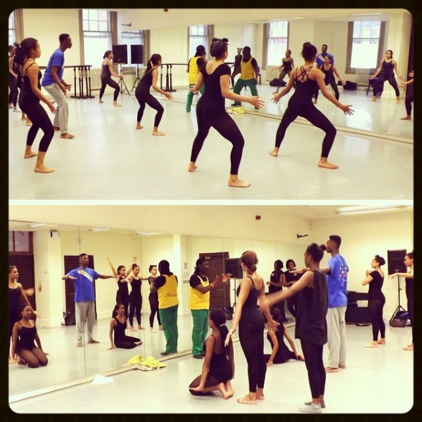 Contemporary Caribbean dance workshop with Carl Campbell
