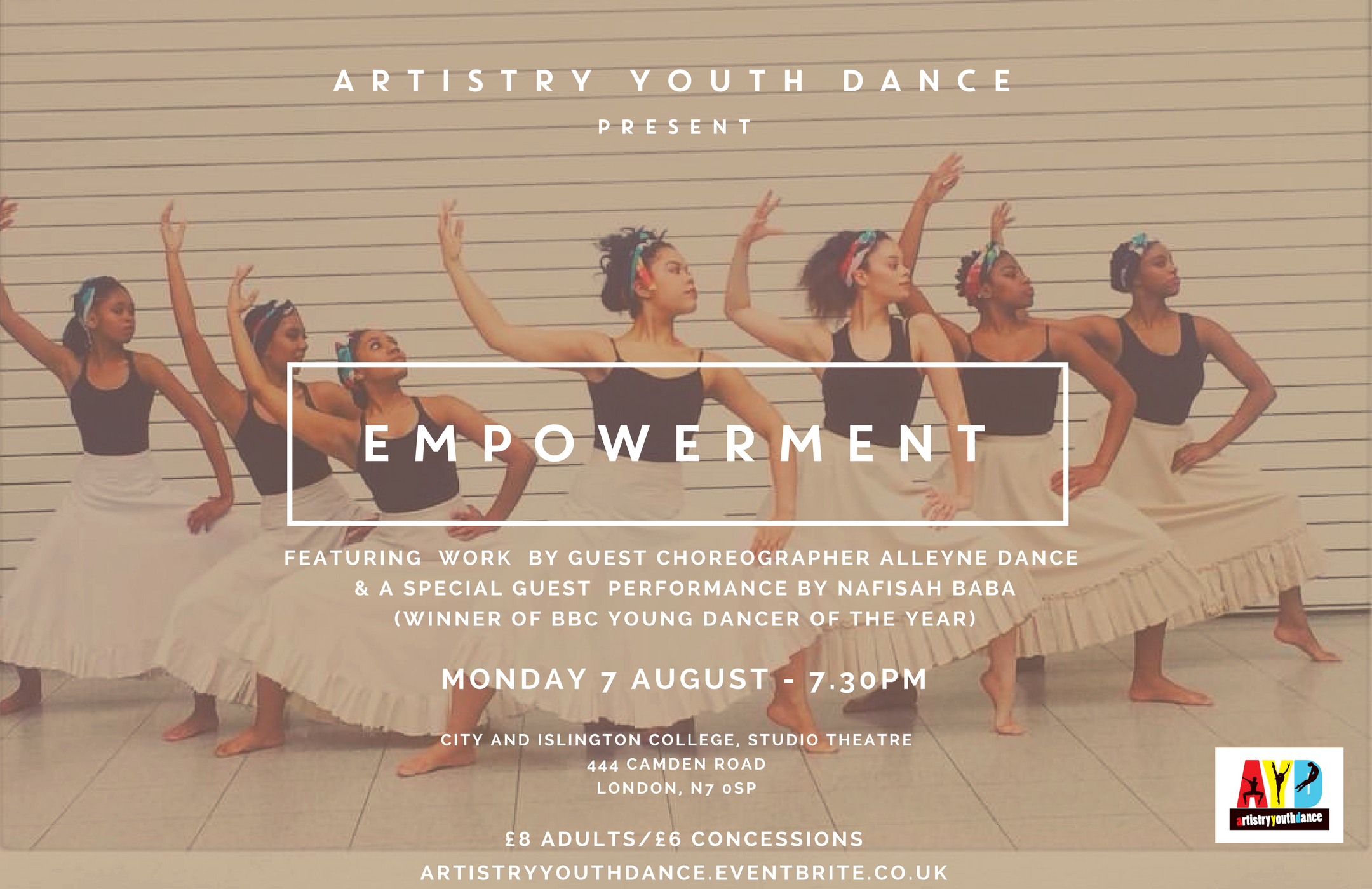 Artistry Youth Dance present 'Empowerment'