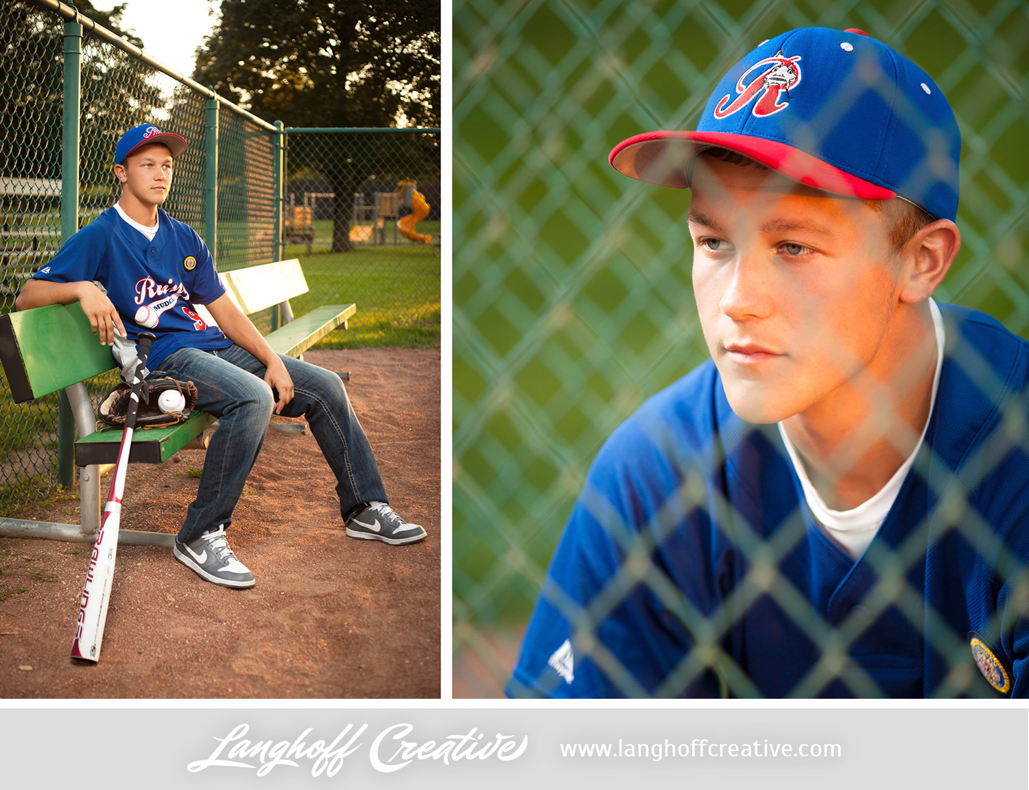 """The moment we stepped onto this baseball diamond, Ryan's persona changed. He came alive—it is obvious that Ryan feels """"at home"""" on the field."""