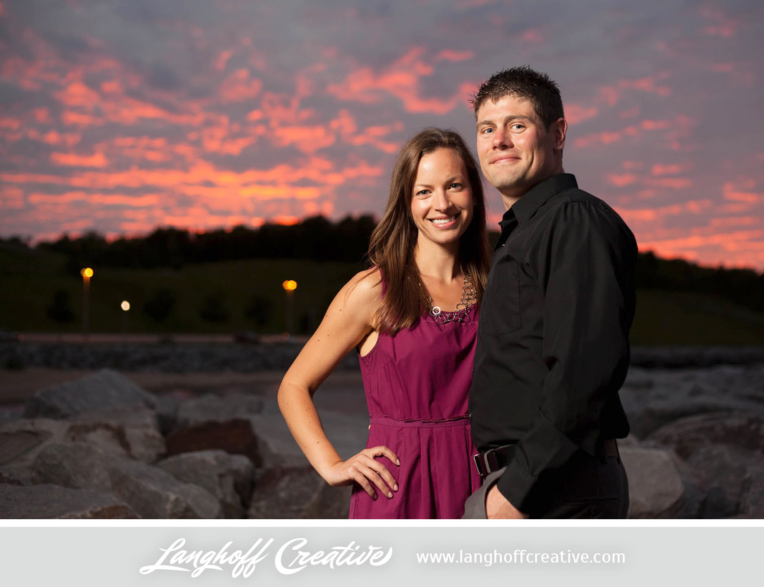 """Michelle  has been a rockstar planning the wedding.  She has done so much. The wedding will be a nice size and have touches of us all throughout."" Adam and Michelle scheduled their wedding five short months from the time they were engaged. Michelle says there have been a few stressors due to that, but it's mostly been fun. ""I've loved incorporating both of our personalities and interests into the day. We have a romantic/bike/wine theme going on. It's fun/modern....it's us."""