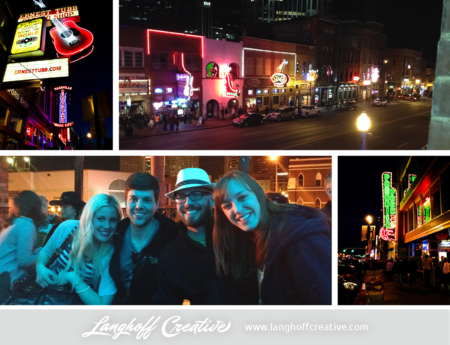 Road trip stop #1 was Nashville. Love these iPhone pics of some of the lights on Broadway. We had so much fun with Maison and Caleb, as well as with Jamie—one of Chad's close friends from elementary & high school. She lives near Nashville now, so she showed us around. Dinner at Honky Tonk was a blast!