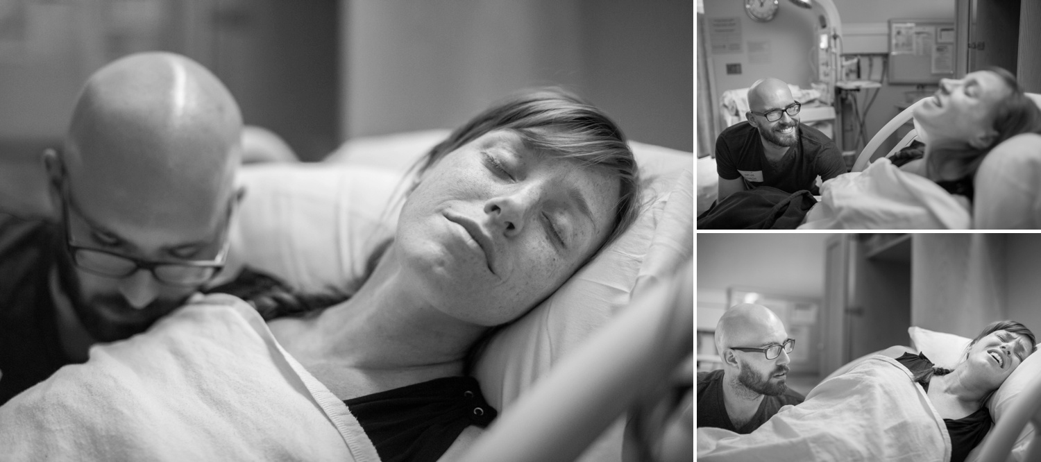 Baby Langhoff is born on April 25, 2016 at 1:40am in Cary, NC. All photos (C) Courtney Potter Photography, Inc. 2016 for The Birth Collective.