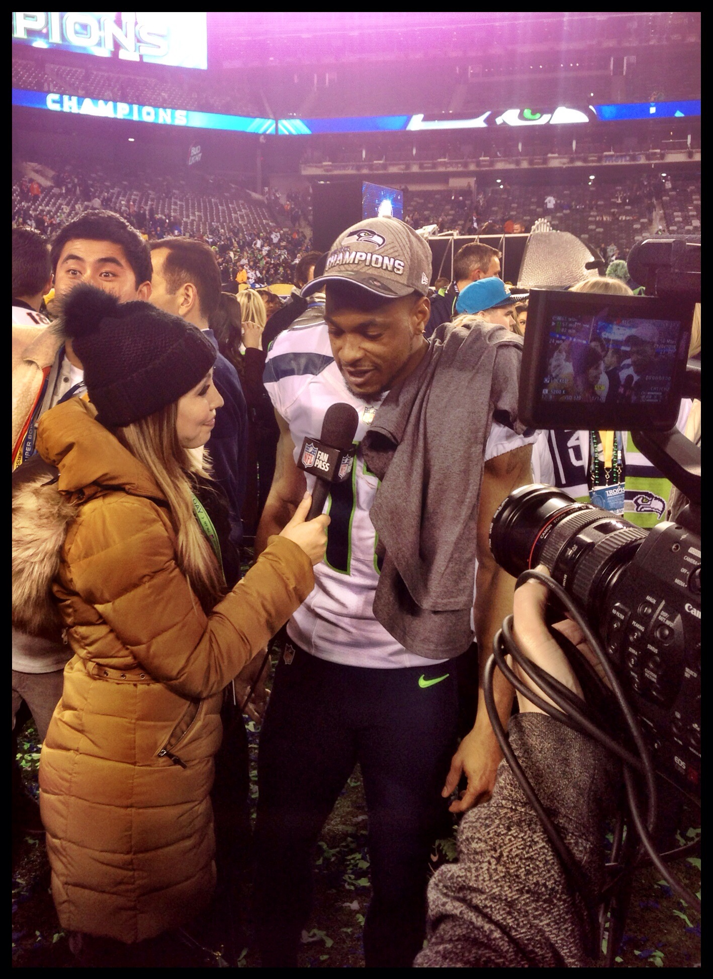 Percy Harvin post game