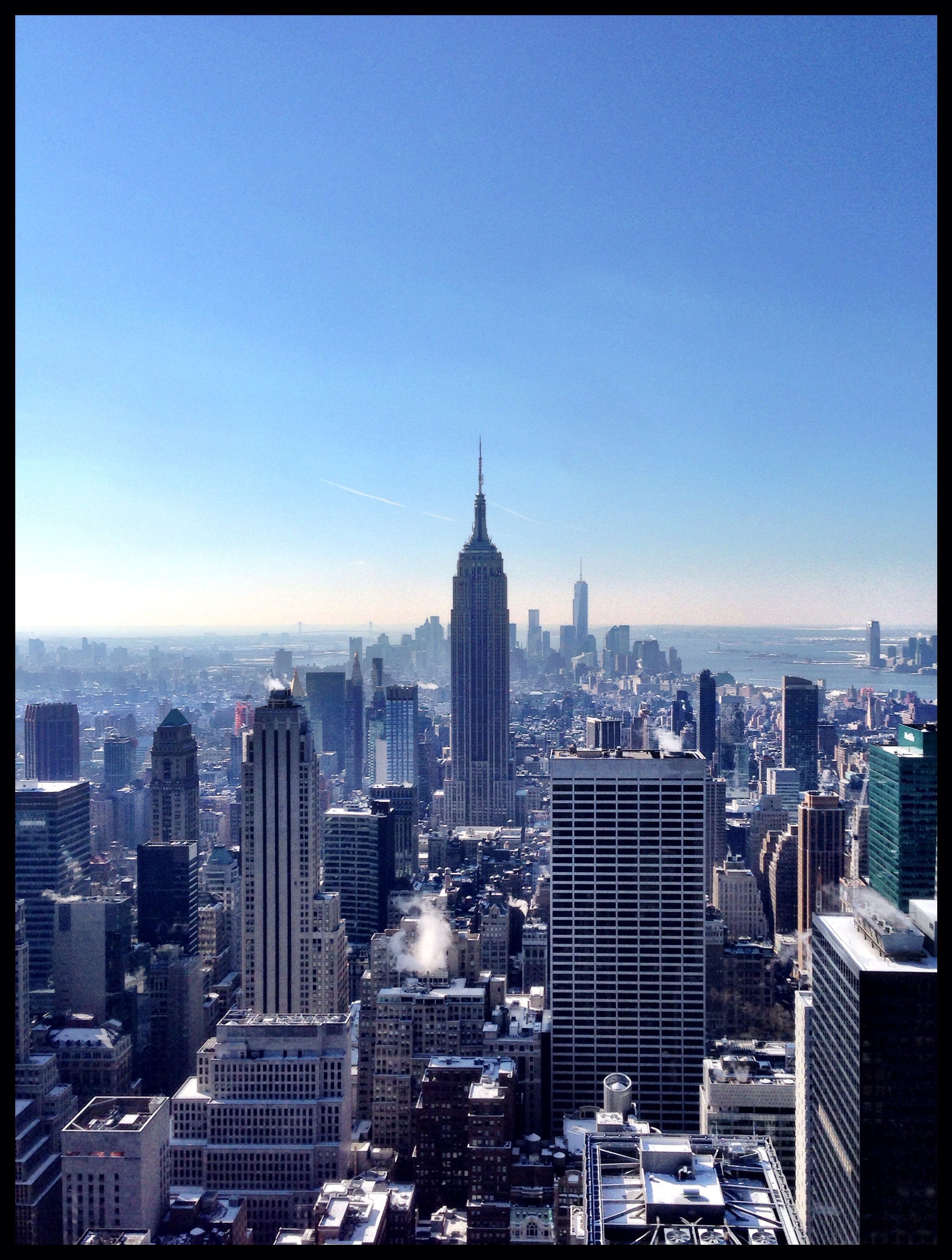 Empire State Building from the Top of the Rock