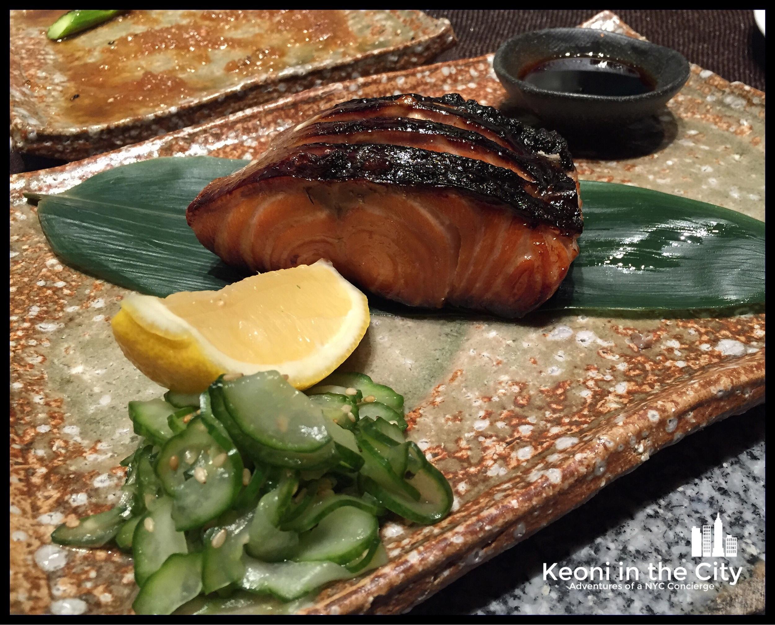 Teryaki  Salmon