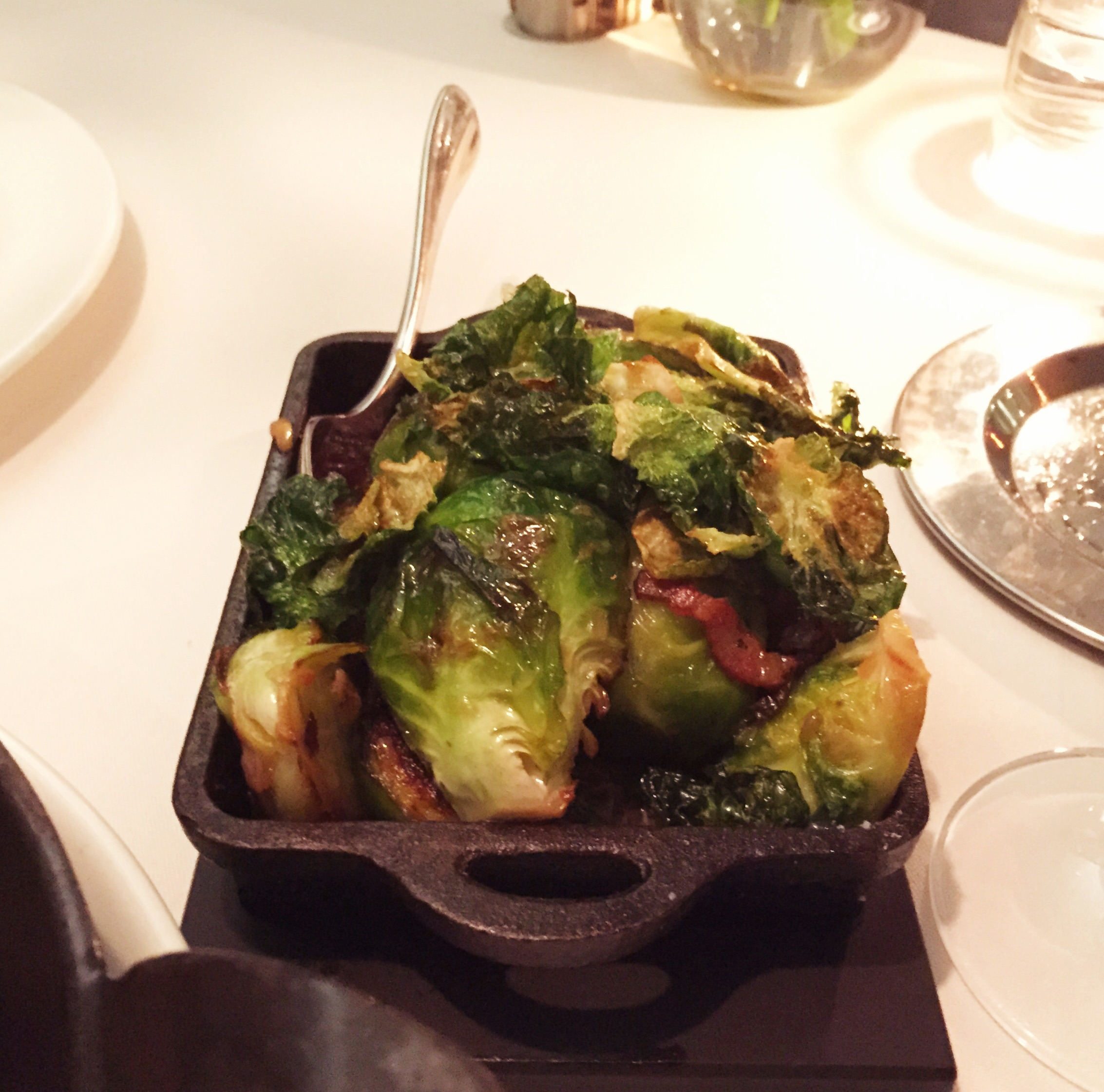 Brussel sprouts and pancetta