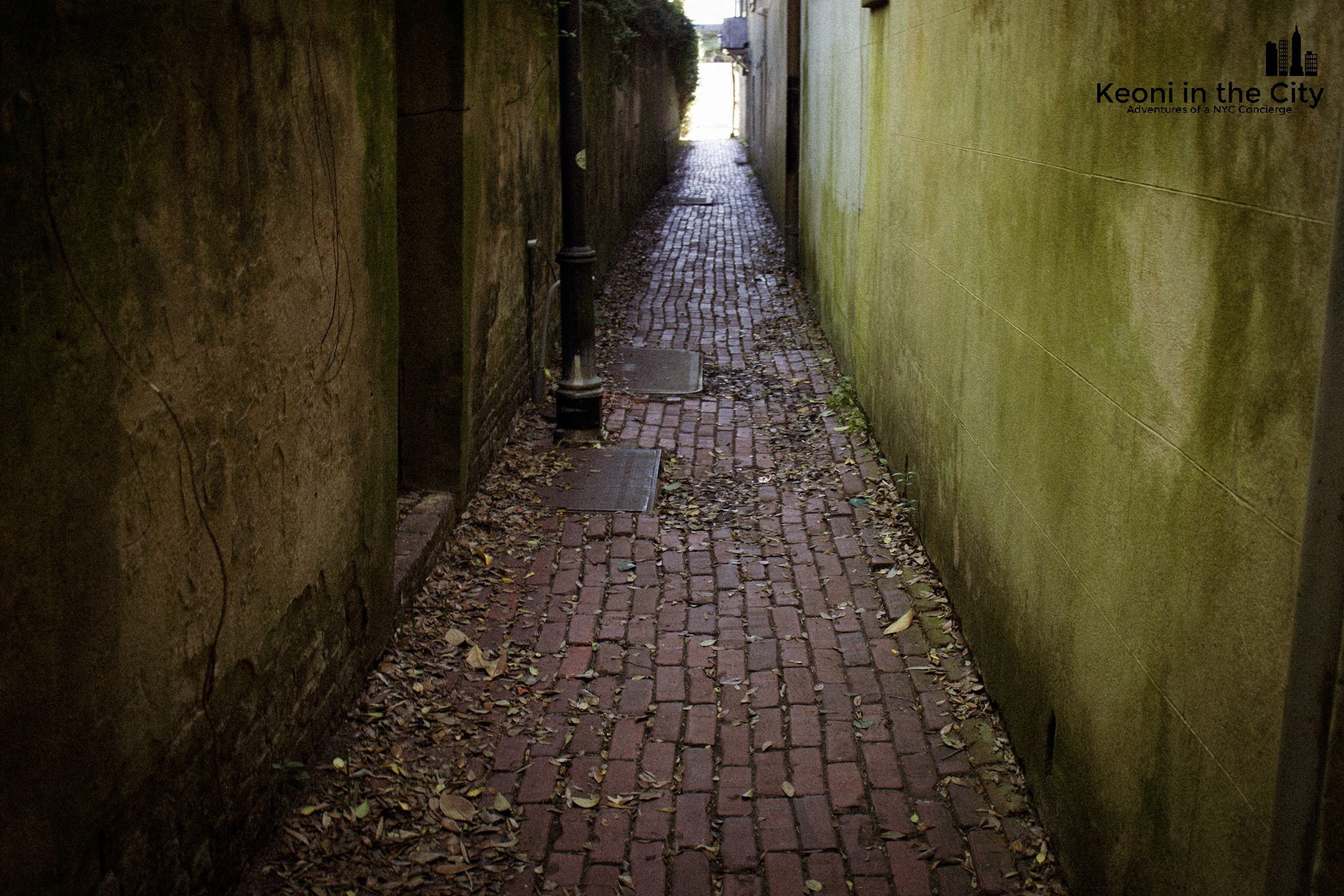 back alleyways…