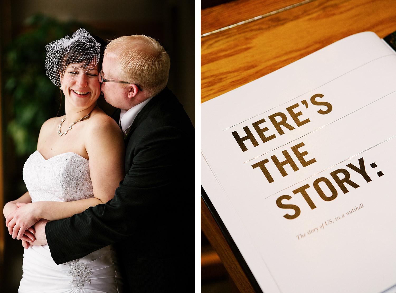 Bride and groom portraits brainerd, mn wedding